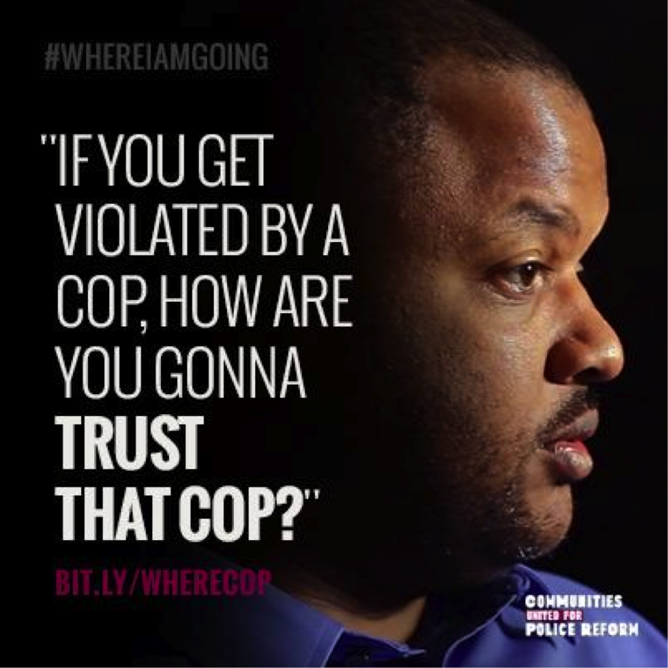 #WhereIamGoing Officer Polanco Quote