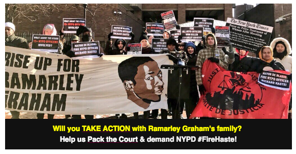 Stand with Ramarley's family to demand NYPD accountability.