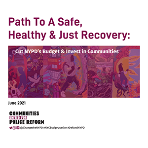 Budget NYPD Report Cover