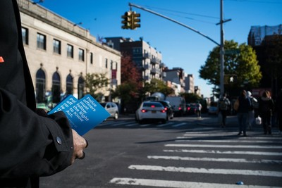 The Right to Know Act was passed in 2017 in response to the uproar over the Police Department's use of stop-and-frisk.CreditCreditTodd Heisler/The New York Times