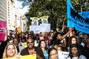 Photo of crowd at Sept 27 CPR Rally for Community Safety