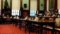 Photo of CPR representatives testifying before City Council